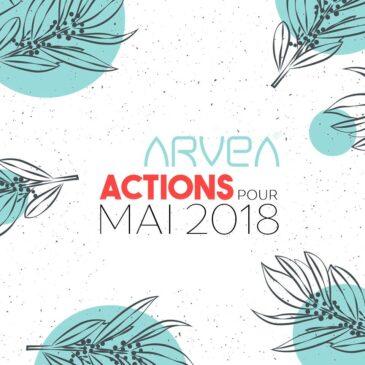 Arvea Action Mois Mai 2018