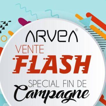 Dernier jour de la vente flash septembre arvea