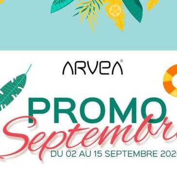Promo Septembre Arvea !!!