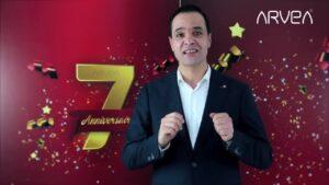 Read more about the article Les Surprises A l'occasion du 7 ème Anniversaire Arvea !!