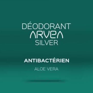 Déodorant Silver Antibactérien Arvea !!!