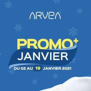 Prolongation Promo Arvea Jusqu'au 19 Janvier !!