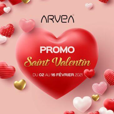 Promo Saint Valentin Arvea Tunisie !!!