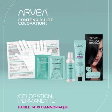 Kit Coloration Arvea Tunisie !!