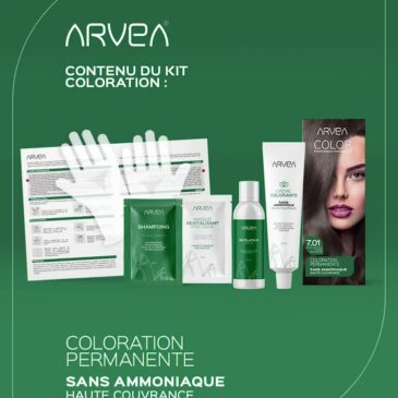 Kit Coloration Sans Ammoniaque Arvea Tunisie !!