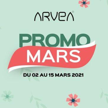 Promo Arvea Mars !!