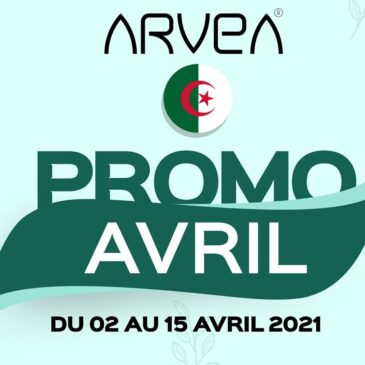 Promo Avril Arvea Algérie !!