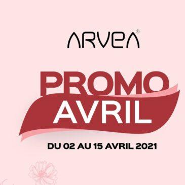Promo Avril Arvea Tunisie !!