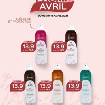 Dernier Jour Promo Avril Arvea Tunisie