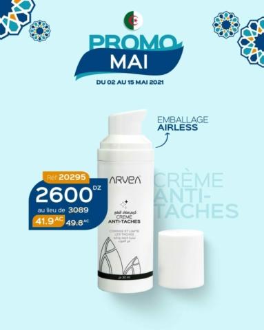 PROMO MAI 2021 ARVEA ALGERIE