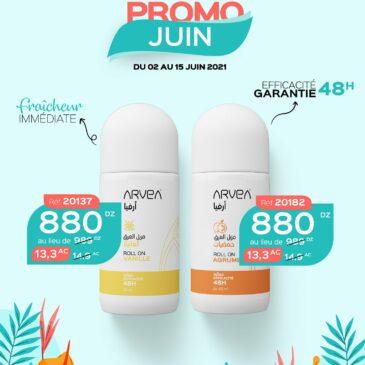 Déodorant Arvea En Promo Juin !!