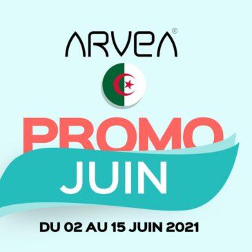Promo Juin Arvea Algérie !!