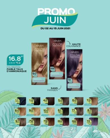 promo juin arvea tunisie