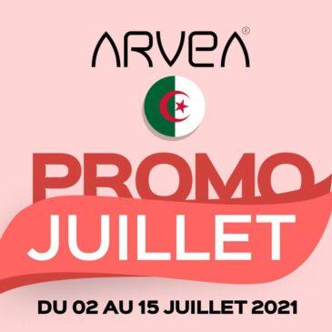 Promo Juillet Arvea Algérie !!