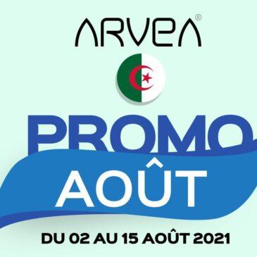 Promo Août Arvea Algérie !!