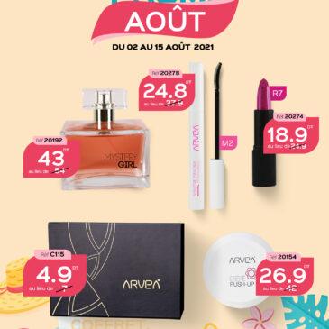 Produits spécial idée de cadeaux en promo Août Arvea Tunisie !!