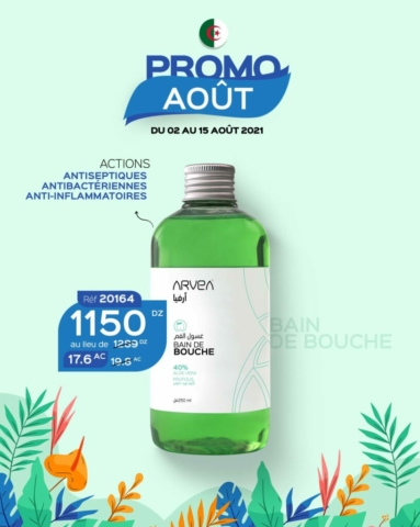 promo août arvea algérie