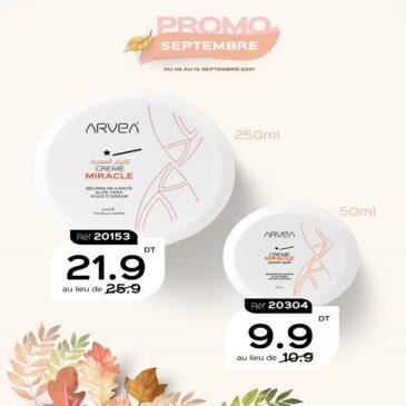Crème Miracle Arvea En Promo Septembre Arvea Tunisie !!
