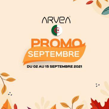 Promo Septembre Arvea Algérie !!
