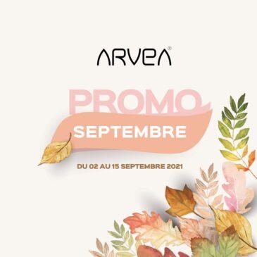Promo Septembre Arvea Tunisie !!