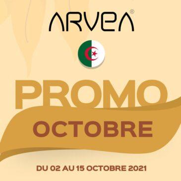 Promo Octobre Arvea Algérie !!